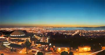 LBNL at Night